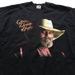 Vintage Charlie Daniels Band Tee Graphic T Shirt L